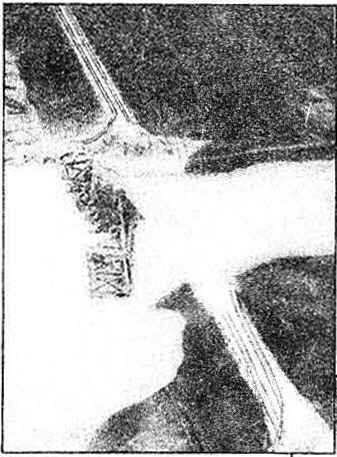 "Company ""A"" bridge platoons started from scratch, as demonstrated in the aerial photo at top left."